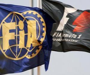 Rompicapo di Bandiere della Federazione automobilistica internazionale