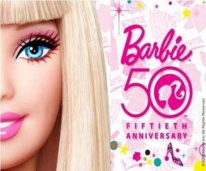 Rompicapo di Barbie 50 ° anniversario