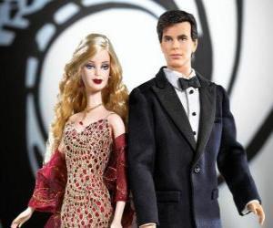 Rompicapo di Barbie e Ken molto elegante