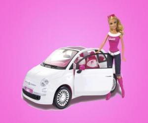 Rompicapo di Barbie e la sua Fiat 500