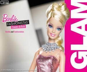 Rompicapo di Barbie Fashionista Glam