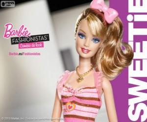 Rompicapo di Barbie Fashionista Sweetie