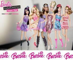 Rompicapo di Barbie FASHIONISTAS