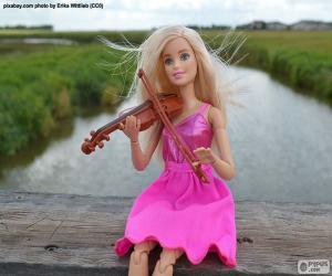 Rompicapo di Barbie gioco del violino