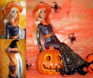 Rompicapo di Barbie in Halloween