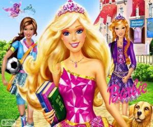 Rompicapo di Barbie Princess a scuola