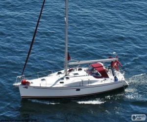 Rompicapo di Barca a vela a motore