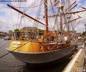 Rompicapo di Barca a vela in legno