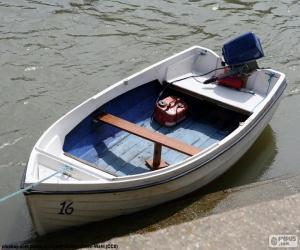 Rompicapo di Barca bianca