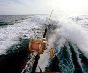 Rompicapo di Barca da pesca sportiva.