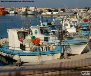 Rompicapo di Barca di pescatori