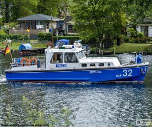 Rompicapo di Barca di polizia, Germania