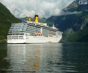 Rompicapo di Barca, Geirangerfjord