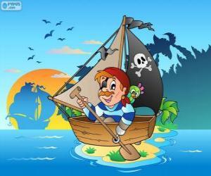 Rompicapo di Barca pirata