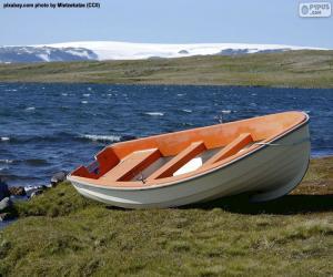 Rompicapo di Barca sulla costa norvegese