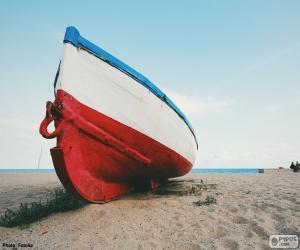 Rompicapo di Barca sulla spiaggia