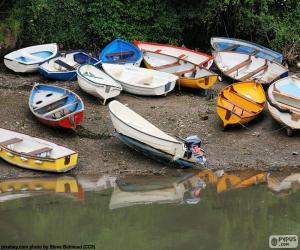 Rompicapo di Barche sulla riva