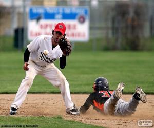 Rompicapo di Baseball a raggiungere la base