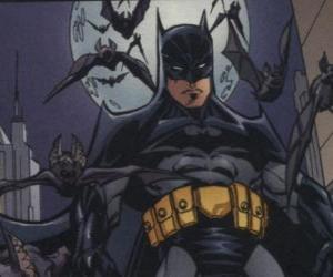 Rompicapo di Batman con i suoi amici, i pipistrelli