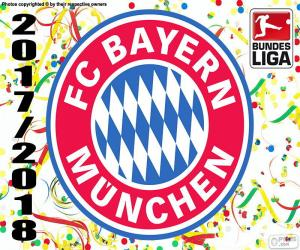 Rompicapo di Bayern, Bundesliga 2017-2018