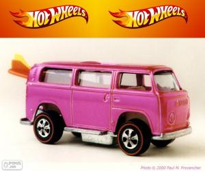Rompicapo di Beach Bomb, Hot Wheels