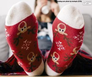 Rompicapo di Bei calzini natalizi