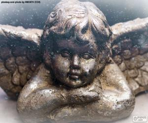 Rompicapo di Bel angelo di Natale