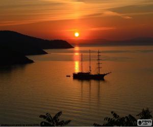Rompicapo di Bel tramonto
