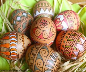 Rompicapo di Belle uova di Pasqua