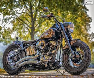 Rompicapo di Bellissima Harley-Davidson