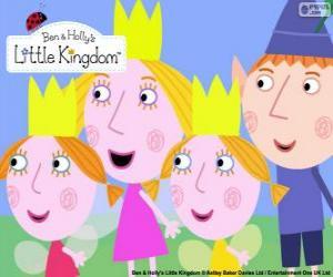 Rompicapo di Ben e Holly con Daisy e Poppy