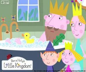 Rompicapo di Ben e Holly con il re