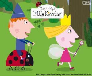 Rompicapo di Ben, Holly e Gaston, tre grandi amici nel piccolo regno