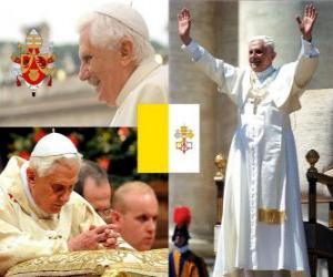 Rompicapo di Benedetto XVI, Joseph Alois Ratzinger è il papa 265 ° della Chiesa cattolica.
