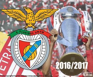 Rompicapo di Benfica, campione 2016-2017