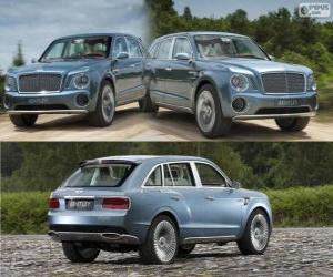 Rompicapo di Bentley EXP 9 F