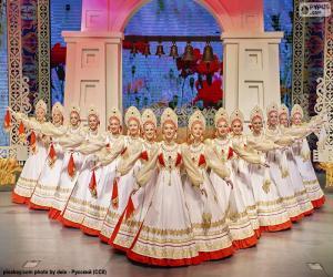 Rompicapo di Beriozka, danza classica russa