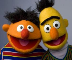 Rompicapo di Bert ed Ernie, due grandi amici