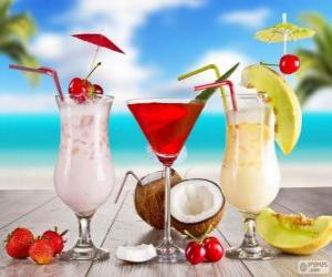 Rompicapo di Bevande per l'estate