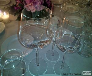 Rompicapo di Bicchieri di cristallo