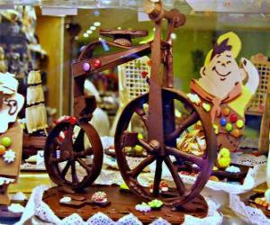 Rompicapo di Bici al cioccolato