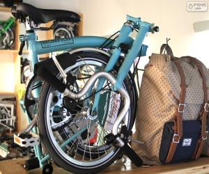 Rompicapo di Bicicletta pieghevole