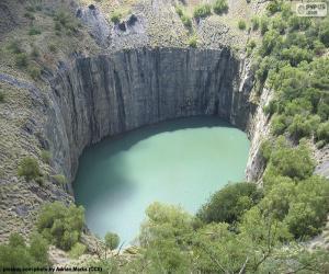 Rompicapo di Big Hole, Sudafrica