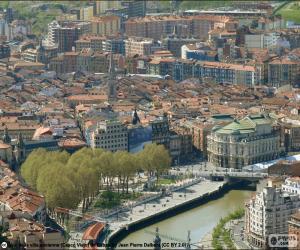 Rompicapo di Bilbao, Paesi Baschi, Spagna,