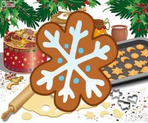 Rompicapo di Biscotti de fiocco di neve