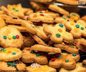 Rompicapo di Biscotti decorati, Natale