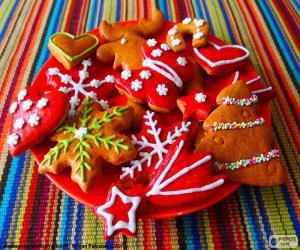 Rompicapo di Biscotti Natale fatti in casa