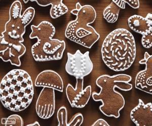 Rompicapo di Biscotti per Pasqua