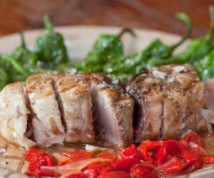 Rompicapo di Bistecca di tonno