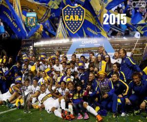 Rompicapo di Boca campione 1° divisione 2015